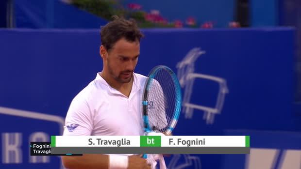 Tennis : Umag - Fognini contraint à l'abandon