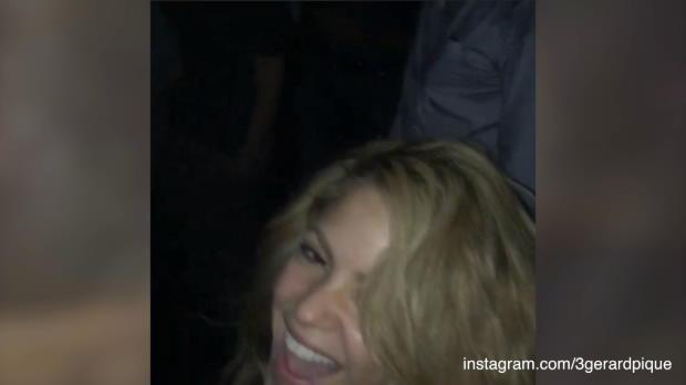 Barcas Party-Nacht: Shakira und Champagner