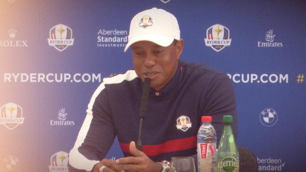 """Ryder Cup: Woods: """"Nervosität und Vorfreude"""""""