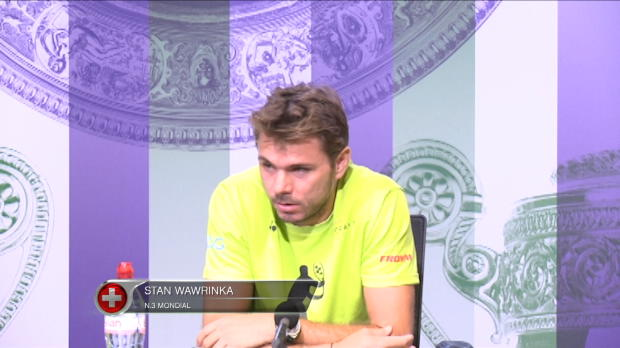 "Basket : Wimbledon - Wawrinka - ""Capable de faire quelque chose ici"""