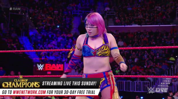 Absolution attack Asuka: Raw, Dec. 11, 2017