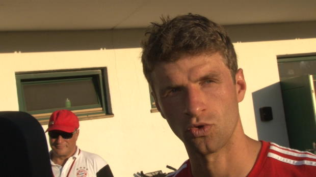 Confed Cup: Thomas Müller spürte ein Kribbeln