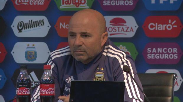 """Argentinien: Sampaoli: """"Messi bester Spieler"""""""