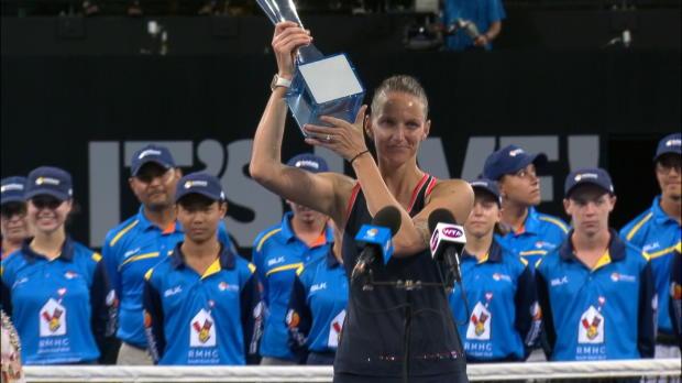 Basket : Brisbane - Pliskova renverse Tsurenko en finale