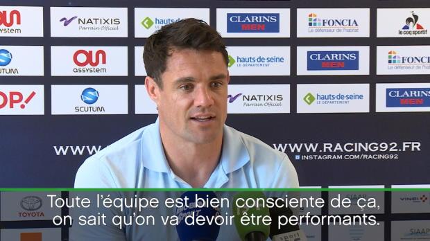 Top 14 - 24e j. : Carter : 'Il va falloir faire un gros truc à Toulouse'