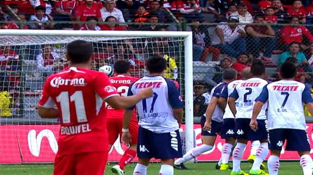 Découvrez les cinq plus beaux buts marqués lors de la 7e journée du championnat du Mexique.