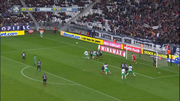Ligue 1 Round 25: Bordeaux 1-4 Saint Etienne