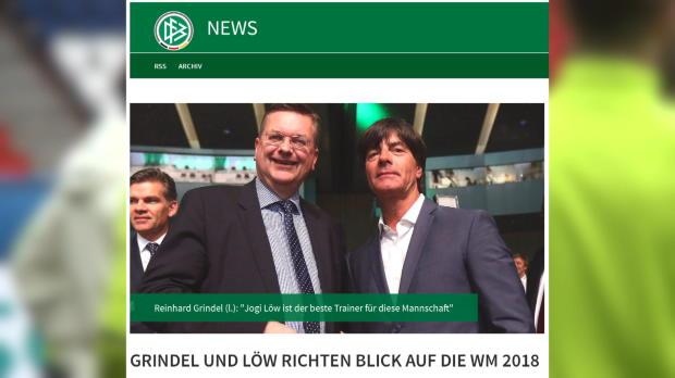 Bundestrainer Joachim Löw macht weiter
