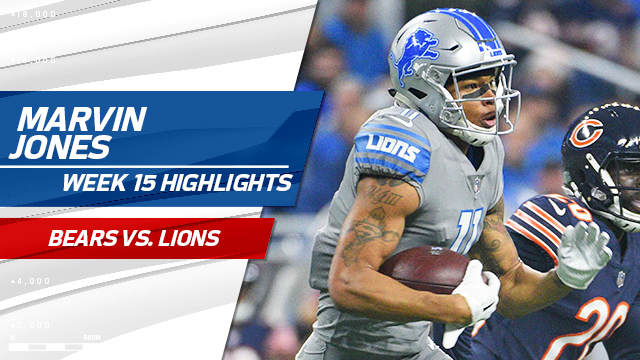 Every Marvin Jones catch | Week 15