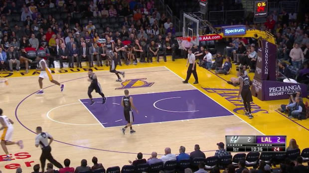 WSC: Highlights: Brandon Ingram (22 points) vs. the Spurs