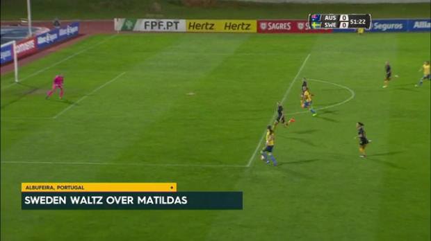 Matildas beaten in Algarve Cup opener