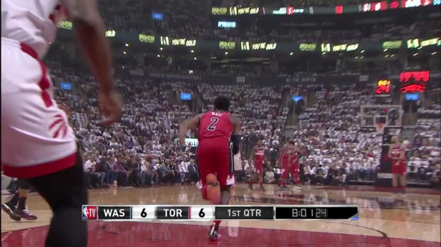 WSC: John Wall (26 points) Highlights vs. Toronto Raptors
