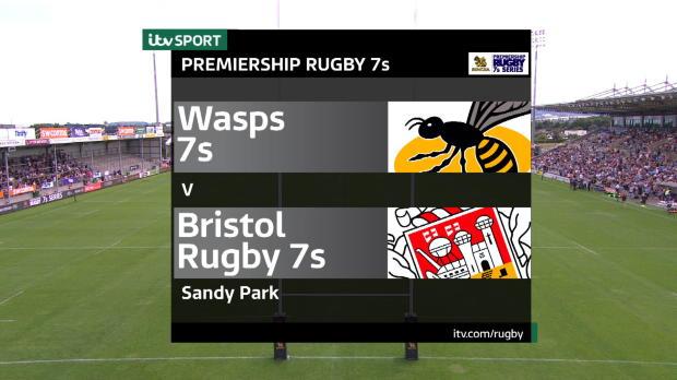 Aviva Premiership - Match Highlights - Wasps 7s v Bristol Rugby 7s