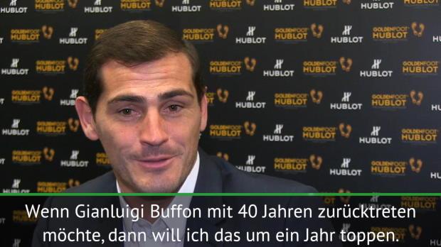 """Casillas will Buffon toppen: """"Höre mit 41 auf"""""""