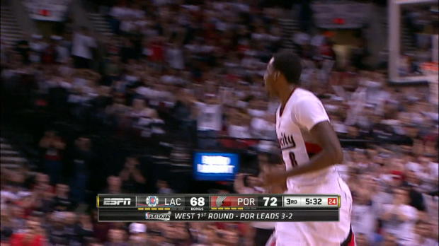 Clippers 103-106 Portland Trail Blazers