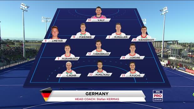 Neuseeland - Deutschland (Men)