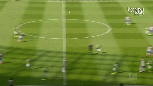 Bundes : Hertha Berlin 2-2 Werder Brême