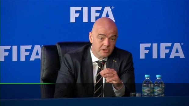 WM 2018: Infantino: Videobeweis wichtige Hilfe
