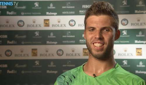 Vesely Interview: ATP Monte-Carlo 2R