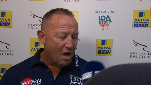 Aviva Premiership - Steve Diamond Post Match Interview