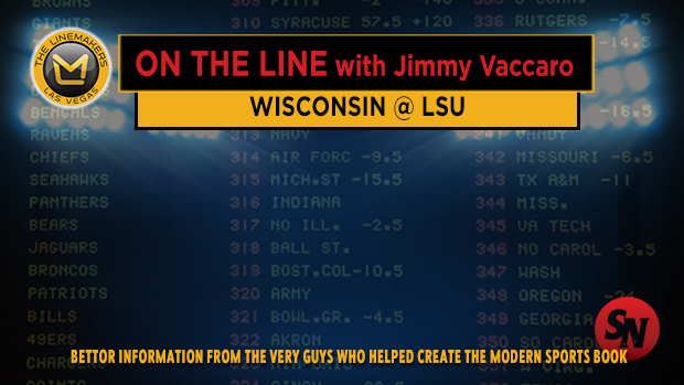 Jimmy V on Wisconsin @ LSU