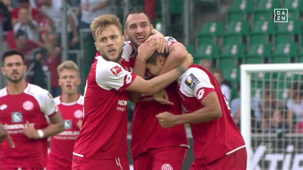 VfL Wolfsburg - 1. FSV Mainz 05 lang