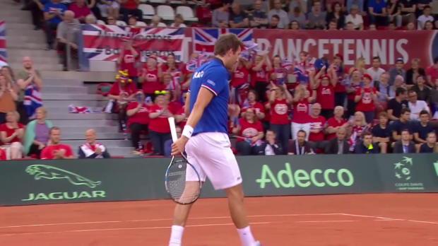 Davis Cup - Tag 3: Frankreich - GBR