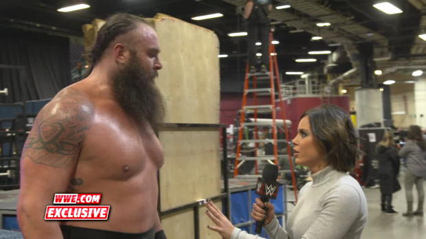 Nothing will stand in Braun Strowman's way en route to the Universal Title: WWE.com Exclusive, Dec. 11, 2017