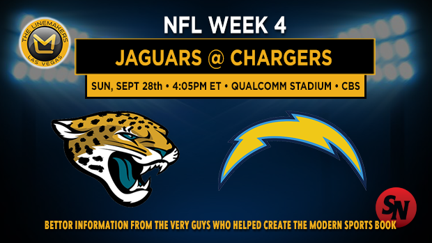 Jacksonville Jaguars @ San Diego Chargers