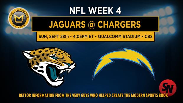 Jacksonville Jaguars @ San Diego Chargers