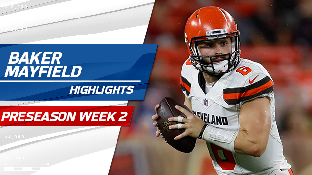 Baker Mayfield highlights | Preseason Week 2