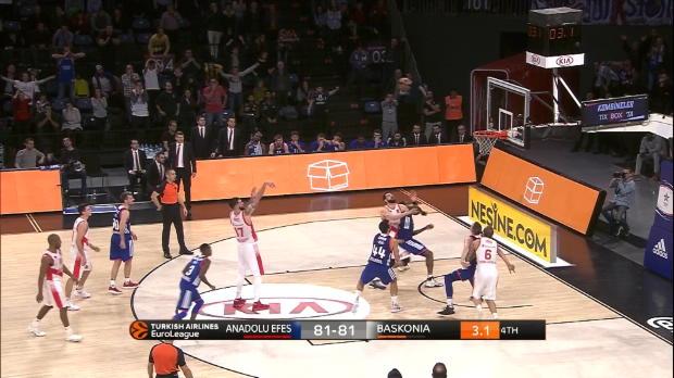 Basket : Euroligue (12e j.) - Poirier offre la victoire à Vitoria