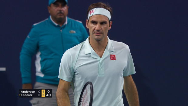 Basket : Miami - Federer trop fort pour Anderson