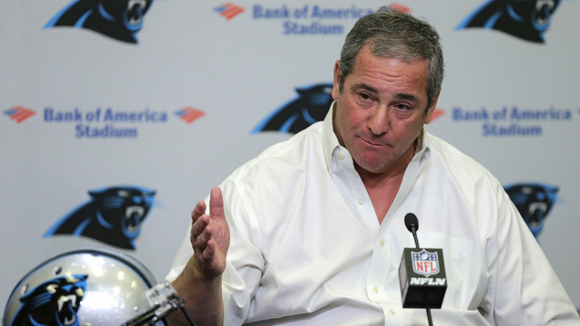 Ian Rapoport: Dave Gettleman, Jerry Richardson had been 'on shaky ground' for a while