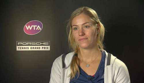 Kerber Interview: WTA Stuttgart Final