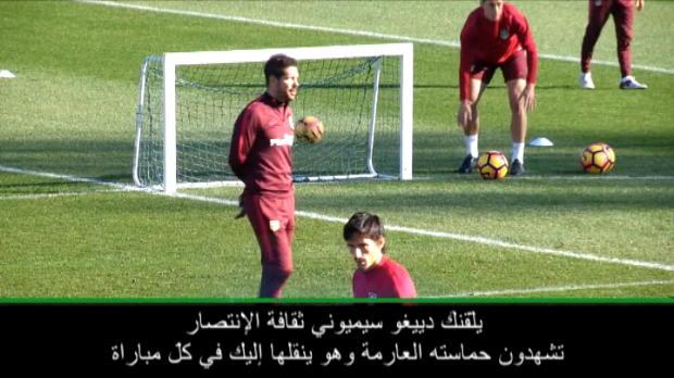 حصري: كرة قدم: سيميوني يعيش من أجل كرة القدم.. ويحلم بها- غاميرو