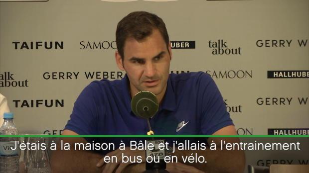 : ATP - Federer - 'J'ai dû faire un choix entre le football et le tennis'
