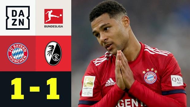 Bundesliga: FC Bayern München - SC Freiburg   DAZN Highlights