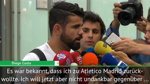 """Costa: """"Atletico Madrid ist meine Heimat"""""""