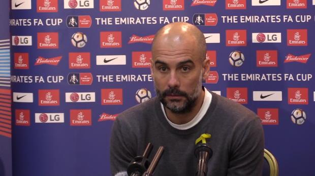 FA Cup: Guardiola nicht unzufrieden trotz Aus