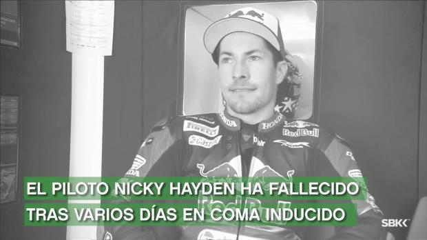 Nicky Hayden fallece a los 35 años