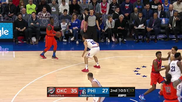 WSC: Dennis Schroder (21 points) Highlights vs. Philadelphia 76ers