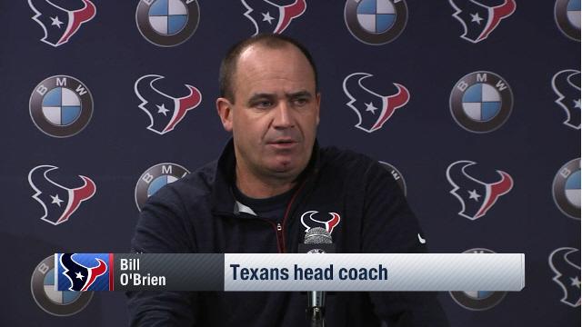 O'Brien: 'Hoyer will start the game against Jacksonville'