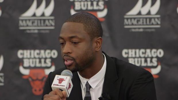 Basket : NBA - Bulls - Wade ému de revenir chez lui