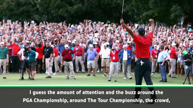 Woods' Tour Championship victory brings a 'buzz' to Team USA - Furyk