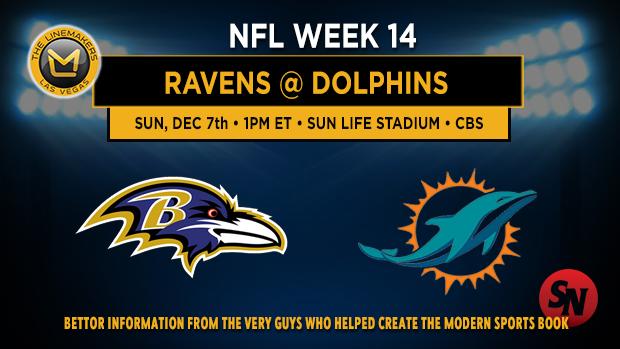 Baltimore Ravens @ Miami Dolphins