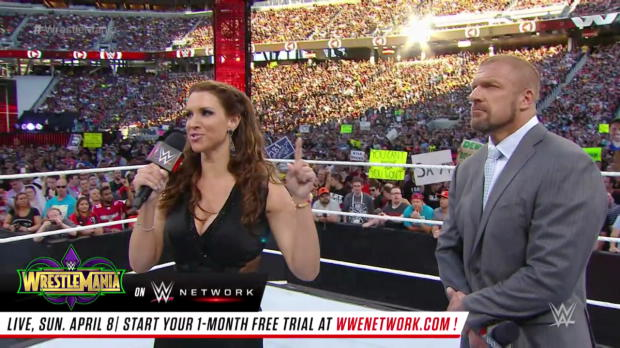 The Rock and Ronda Rousey confront the Authority: WrestleMania 29 (Full segment - WWE Network Exclusive)