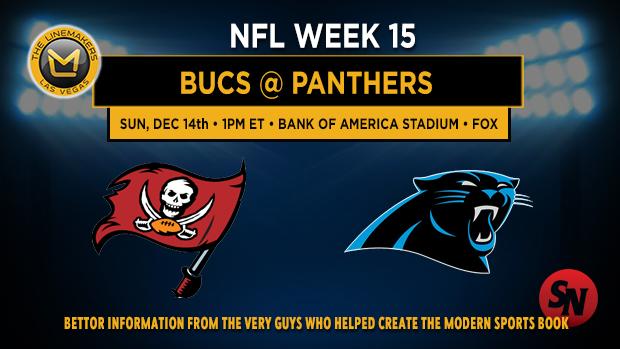Tampa Bay Buccaneers @ Carolina Panthers