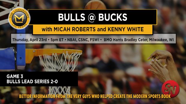 Bulls @ Bucks Game 3