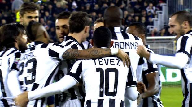 Cagliari 1-3 Juventus, Giornata 16 Serie A TIM 2014/15